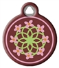 Dog Tag Art Lupine Cherry Blossom DTA-20843