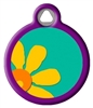 Dog Tag Art LupinePet Crazy Daisy -  DTA-12095