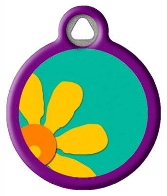 Dog Tag Art Lupine Crazy Daisy -  DTA-12095