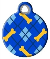 Dog Tag Art Lupine Dapper Dog - DTA-12092