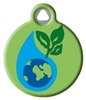 Dog Tag Art Lupine Earth Day DTA-12101