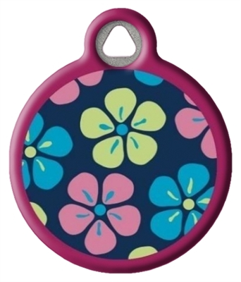 Dog Tag Art LupinePet Flower Power - DTA-41706