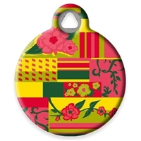 Dog Tag Art Lupine Flower Patch DTA-59701