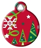 Dog Tag Art Lupine Christmas Cheer - DTA-57900