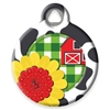 Dog Tag Art Lupine Heartland - DTA-MB690