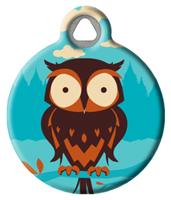 Dog Tag Art Lupine Hoot - DTA-MB686