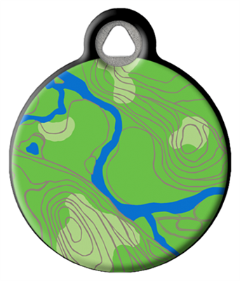 Dog Tag Art Lupine Intervale - DTA-MB687