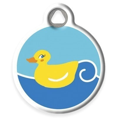 Dog Tag Art Lupine Just Ducky DTA-20847