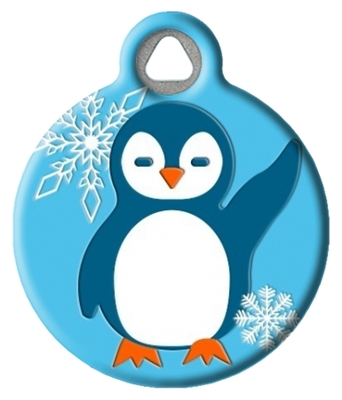 Dog Tag Art Lupine Penguin Party DTA-MB678