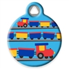 Dog Tag Art LupinePet Choo Choo - DTA-MB664