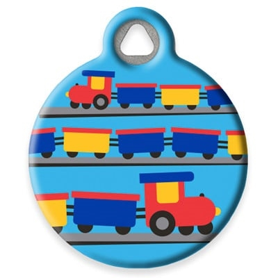 Dog Tag Art Lupine Choo Choo - DTA-MB664