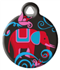 Dog Tag Art Lupine Elephant Walk - DTA-MB651