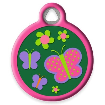 Dog Tag Art Lupine Garden Party - DTA-MB668