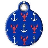Dog Tag Art Lupine Lobstahs- DTA-MB670