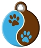 Dog Tag Art LupinePet Muddy Paws - DTA-12097