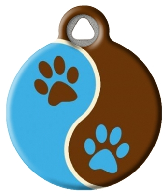 Dog Tag Art Lupine Muddy Paws - DTA-12097