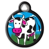 Dog Tag Art Lupine Udderly Cows - DTA-MB671