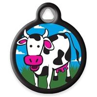 Dog Tag Art LupinePet Udderly Cows - DTA-MB671