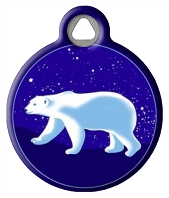 Dog Tag Art Lupine Polar Paws DTA-36780
