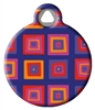 Dog Tag Art Lupine Ruby Cube DTA-12125