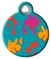 Dog Tag Art Lupine Wet Paint! - DTA-12107