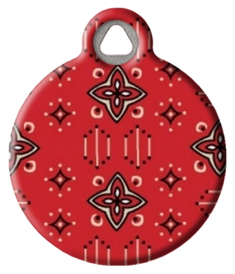 Dog Tag Art Lupine Wild West DTA-12088