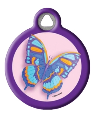 Dog Tag Art Butterfly Tag DTA-509