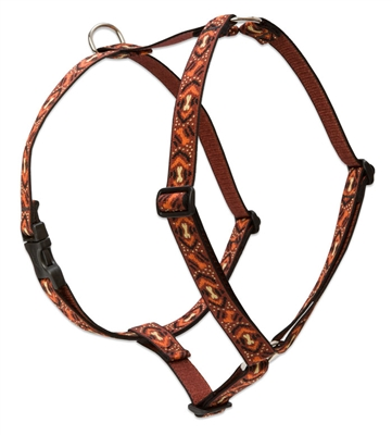 "Lupine 1"" Down Under 24-38"" Roman Harness"