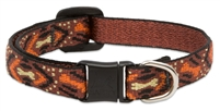 "Retired Lupine 1/2"" Down Under Safety Cat Collar"