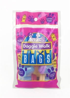 Doggie Walk Bags - Bag of 5 Capsules