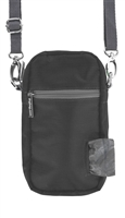 Doggie Walk Bags - Black Cross Body Bag