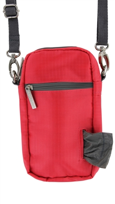 Doggie Walk Bags - Coral Cross Body Bag