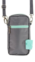 Doggie Walk Bags - Gray Cross Body Bag