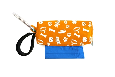 Doggie Walk Bags - Orange Pet Gear Square Duffel