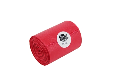 Doggie Walk - Single Roll Red - Floral Scent