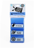 Doggie Walk - Blue Tie Handle Refill (Baby Powder)