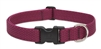 "LupinePetPet ECO 1"" Berry 12-20"" Adjustable Collar for Medium and Larger Dogs"