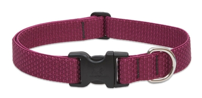 "Lupine ECO 1"" Berry 12-20"" Adjustable Collar for Medium and Larger Dogs"