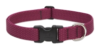 "Lupine ECO 1"" Berry 16-28"" Adjustable Collar for Medium and Larger Dogs"
