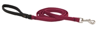"Lupine ECO 1/2"" Berry 6' Padded Handle Leash"