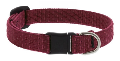 "Lupine ECO 1/2"" Berry Cat Safety Collar with Bell"
