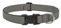 "LupinePet ECO 1"" Granite 16-28"" Adjustable Collar for Medium and Larger Dogs"