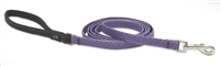 "Lupine ECO 1/2"" Lilac 4' Padded Handle Leash"