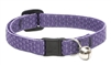 "Lupine ECO 1/2"" Lilac Cat Safety Collar with Bell"