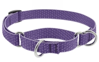 "Lupine ECO 3/4"" Lilac 10-14"" Martingale Training Collar"