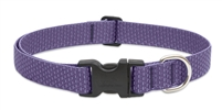 "LupinePet ECO 1"" Lilac 12-20"" Adjustable Collar for Medium and Larger Dogs"