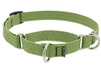"Lupine ECO 3/4"" Moss 10-14"" Martingale Training Collar"
