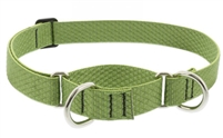 "Lupine ECO 1"" Moss 15-22"" Martingale Training Collar"