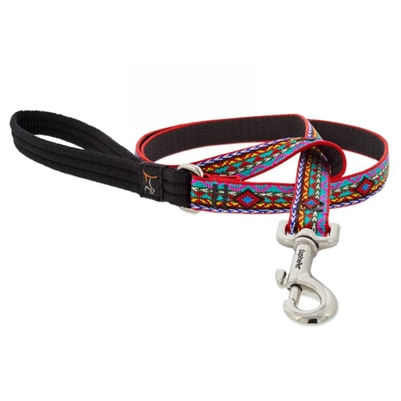 "Lupine 3/4"" El Paso 6' Padded Handle Leash"