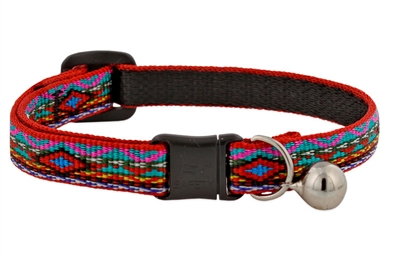 "Lupine 1/2"" El Paso Cat Safety Collar with Bell"